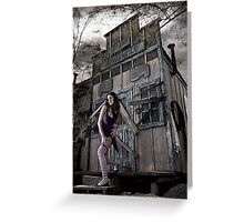 Ghostland Greeting Card