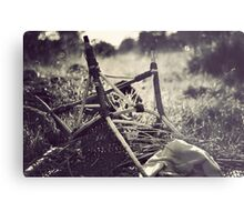 Obstacles do not exist to be surrendered to, but only to be broken.  Metal Print