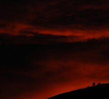 Red Sky At Night by ShotByAWolf