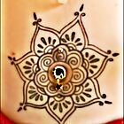 Belly Tat and jewel  by mandyemblow