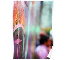 Graffiti Bokeh. Poster