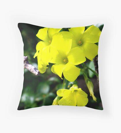 Yellow Lumos Throw Pillow