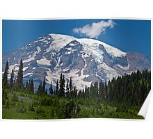 Mt. Rainier at Paradise (Washington State) Poster
