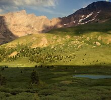 The Golden Light of Guanella by John  De Bord Photography