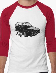 v-ub rabbit Men's Baseball ¾ T-Shirt