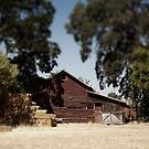 Barn and Hay by psnoonan
