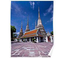 Wat Pho - Bangkok Thailand Poster