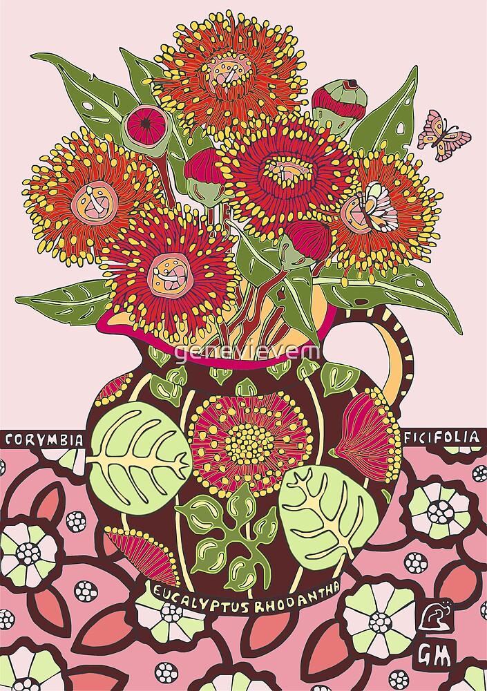 Red Flowering Gum by genevievem