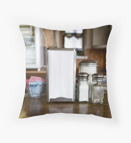 Jake's Cafe in Ritzville, WA Throw Pillow