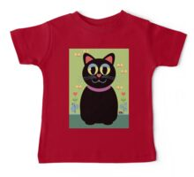 Cat, Butterflies, Lady Bug and a Snail Baby Tee