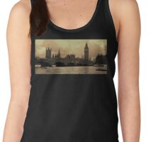 River Thames Sepia Women's Tank Top