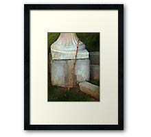 Cemetery Corner Framed Print