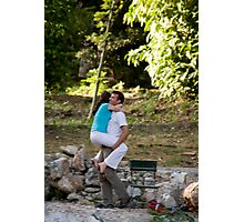 Grecian Lovers Photographic Print