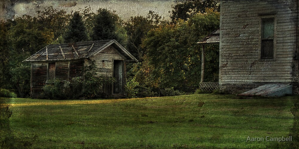 The Weathered Shed by Aaron Campbell