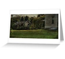 The Weathered Shed Greeting Card