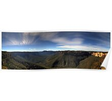 Evans Lookout - Blue Mountains Poster
