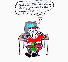 Santa's Inbox (color) Unisex T-Shirt