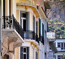 Athenian Balconies by Brendan Buckley