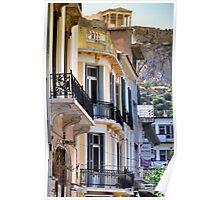 Athenian Balconies Poster