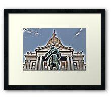 Capitol Guardian Framed Print