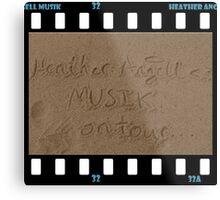 Heather Angell Musik - On Tour Metal Print