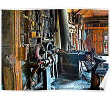 The Blacksmith Shop of Docs Town Poster