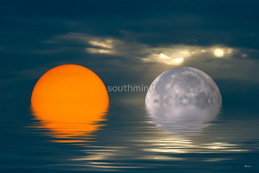Sun and Moon by southmind