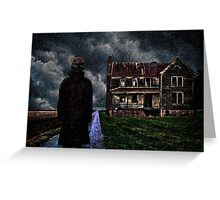 The Visitor Fine Art Print Greeting Card
