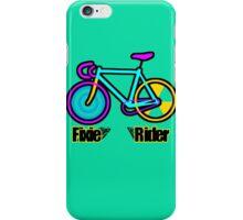 Fixie Rider iPhone Case/Skin