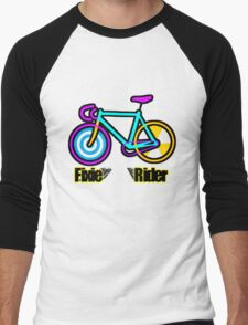 Fixie Rider Men's Baseball ¾ T-Shirt