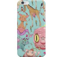 Misfit Animals iPhone Case/Skin