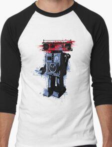 Soundroid Men's Baseball ¾ T-Shirt