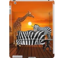Afrika wildlife living room :) iPad Case/Skin