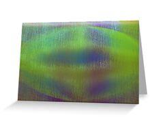 The Green Manalishi Greeting Card