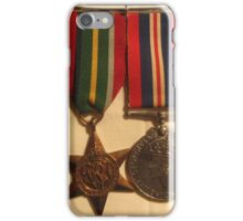 Grandpa's War Medals iPhone Case/Skin