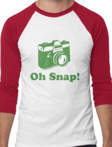 Oh Snap! Men's Baseball ¾ T-Shirt