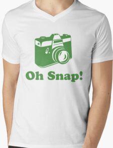 Oh Snap! Mens V-Neck T-Shirt