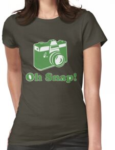 Oh Snap! Womens Fitted T-Shirt