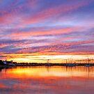 Eastern Beach Sunset 2 by RichardIsik