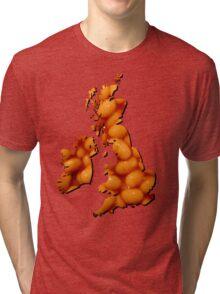 Baked bean Britain Tri-blend T-Shirt