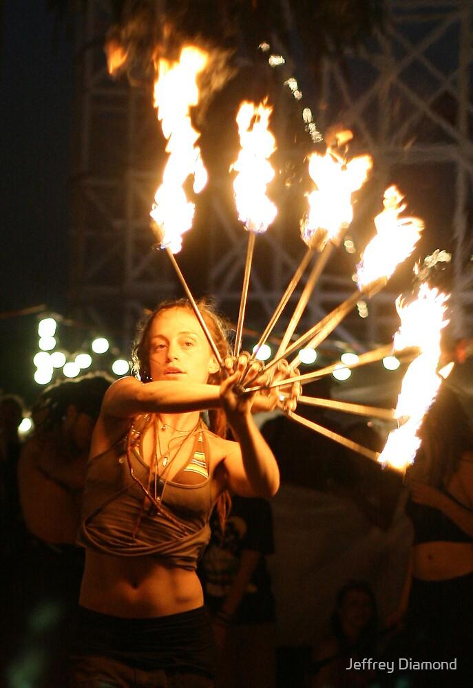 Fire dance 2 by Jeffrey Diamond