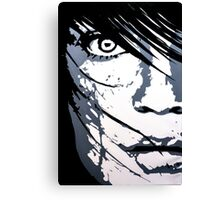 Face 01 Canvas Print