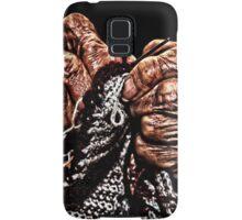 Old Hands Knitting Samsung Galaxy Case/Skin