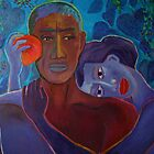 Adam and Eve by IvonaTorovin