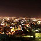 Amman At night.  by ayham Salameh