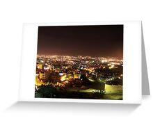 Amman At night.  Greeting Card