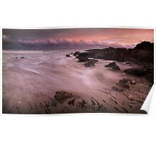 """Main Beach Sunset"",Anglesea,Great Ocean Road,Australia. Poster"