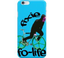 Fixie for life iPhone Case/Skin