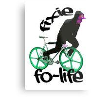Fixie for life Metal Print