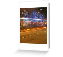 London Lights Greeting Card